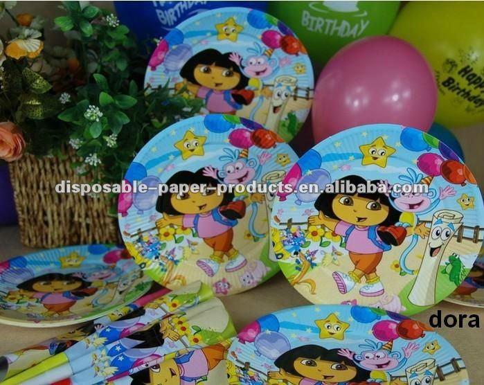 卸売ドラと仲間パーティー用品/女の子の誕生日パーティーには、食器用品問屋・仕入れ・卸・卸売り