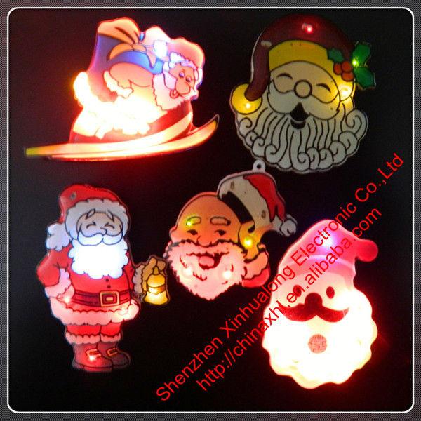 カスタムLEDバッジ、LEDのクリスマスパーティーサプライ問屋・仕入れ・卸・卸売り
