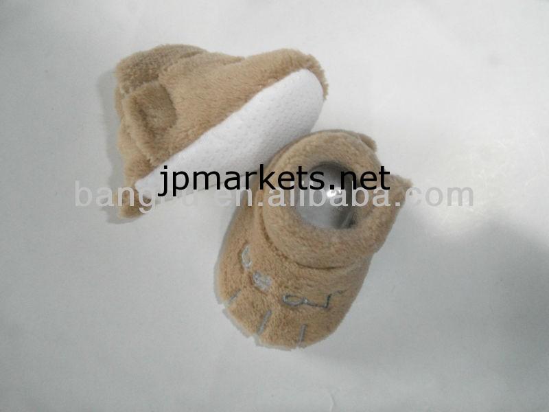 刺繍かわいい快適な人の言いなりになる人暖かいキッズ·ベビー幼児の靴問屋・仕入れ・卸・卸売り