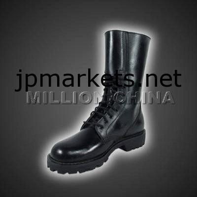 黒人男性の革の軍用ブーツ問屋・仕入れ・卸・卸売り