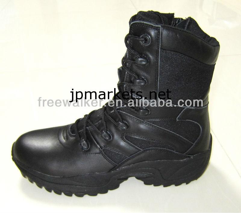 2013Newスタイルデルタフォース新入荷SWATの戦闘スタイル本革の軍隊のブーツ問屋・仕入れ・卸・卸売り