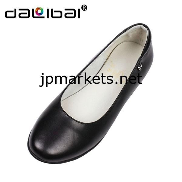 中国で行われた女性の美しいフラットは、厳密には女性の黒のドレスシューズ用の靴を慰める問屋・仕入れ・卸・卸売り