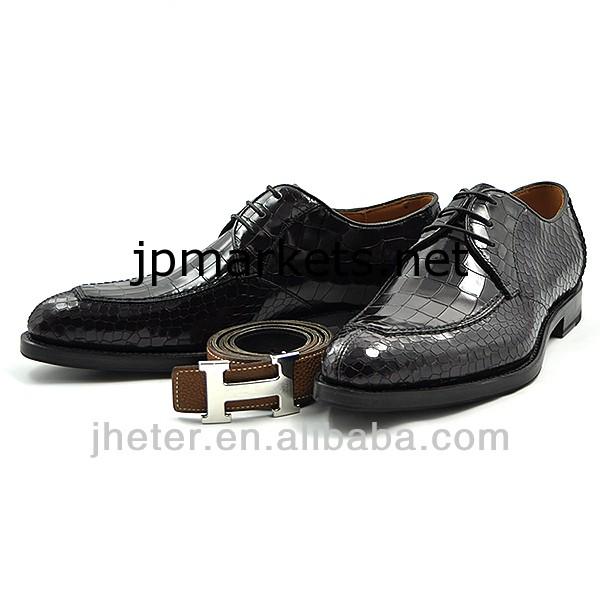 イタリアの本物のグッドイヤー·ウェルトマンリアルアニマルレザードレスシューズの男靴問屋・仕入れ・卸・卸売り