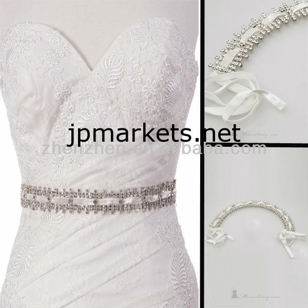 ドレスのためのHY-S004新しいスタイルの手作りビーズベルト問屋・仕入れ・卸・卸売り