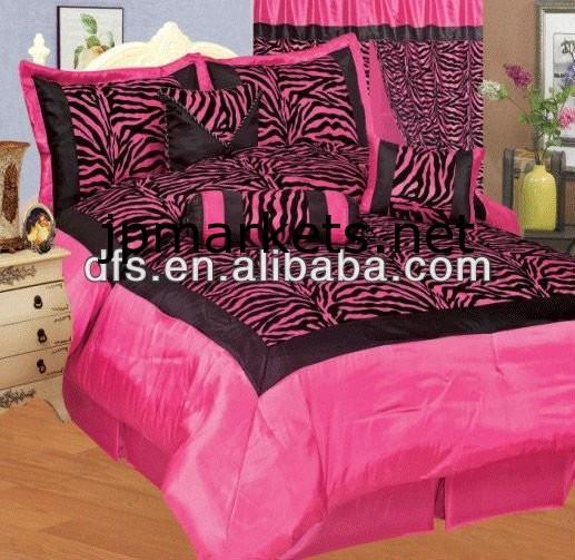 7PCSフロッキング寝具セット問屋・仕入れ・卸・卸売り