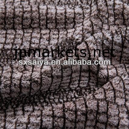 PVフリース生地ぬいぐるみフリース生地印刷されたポリエステル織物問屋・仕入れ・卸・卸売り