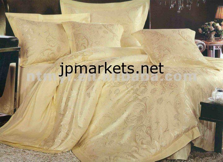 ホット金色のジャカード寝具set/3d寝具set/6-piece寝具セット問屋・仕入れ・卸・卸売り