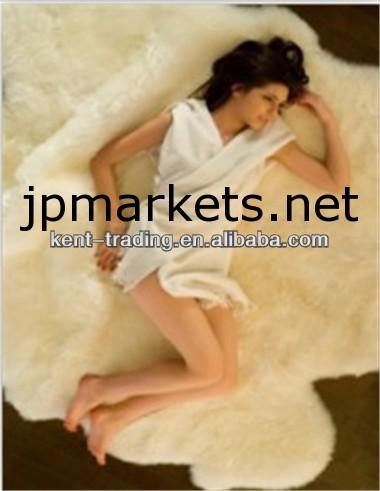 ベッドのウールカーペットシープスキンベッドの敷物羊毛ベッドカーペットソフトシープスキンカーペット問屋・仕入れ・卸・卸売り
