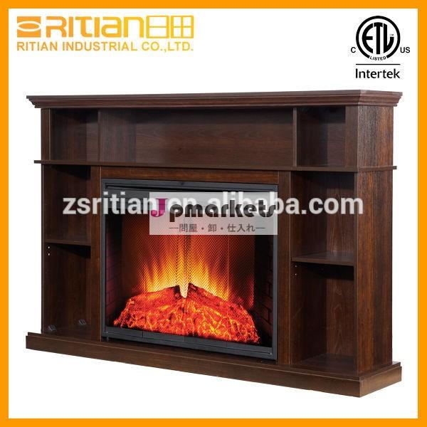 木製のマントルピースの電気暖炉、 模倣電気暖炉問屋・仕入れ・卸・卸売り