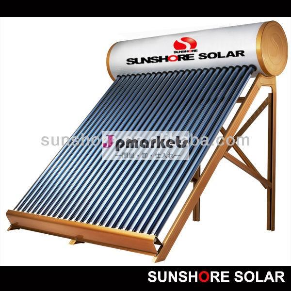 Sunshore( ce太陽keymarksabsccciso) sunshore加圧太陽熱温水器- 銅コイル問屋・仕入れ・卸・卸売り