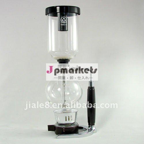 カップ耐火5syphoneホウケイ酸ガラスのコーヒーポット問屋・仕入れ・卸・卸売り