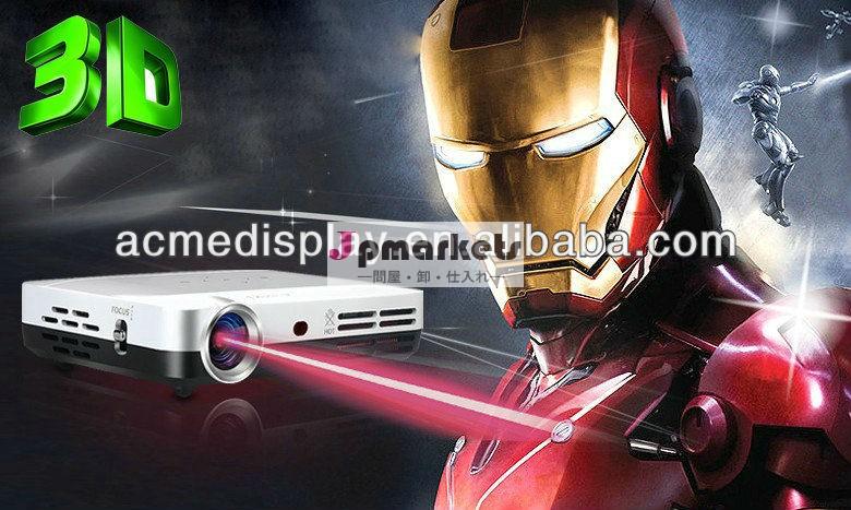 Mirco2d3dプロジェクターdlpledを変換するために映画で3d驚くべき表示効果proyectorコントラスト比5000:1ビーマー問屋・仕入れ・卸・卸売り