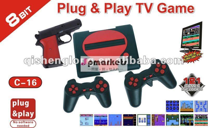 C-168ビットプラグ& プレイのテレビゲーム、 ビデオゲーム問屋・仕入れ・卸・卸売り