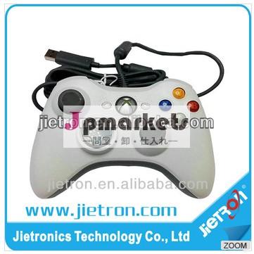 オリジナルicpCホワイトゲームパッドのゲームコントローラのジョイスティックxbox360用有線コントローラ問屋・仕入れ・卸・卸売り