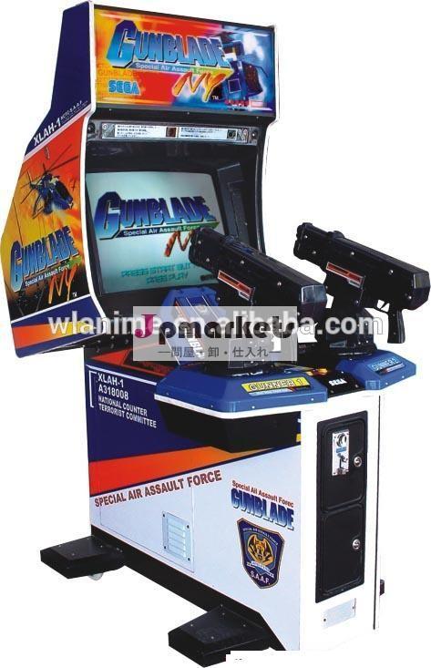 コインが運営するエイリアン子供シューティングゲームマシンgunbladeニューヨークに問屋・仕入れ・卸・卸売り