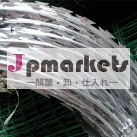 新製品2014年熱い- 亜鉛亜鉛めっきかみそり有刺鉄線問屋・仕入れ・卸・卸売り