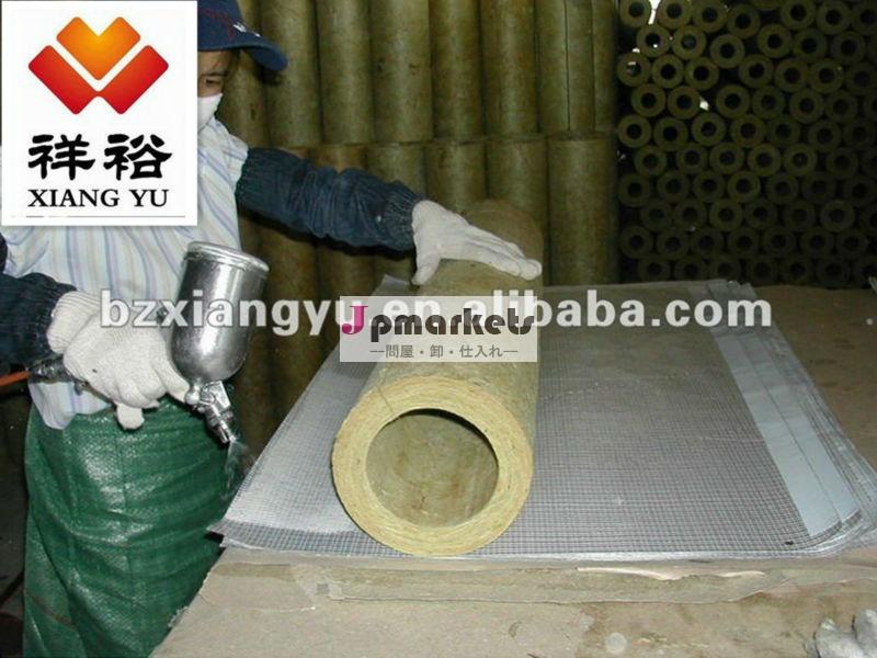 高密度ミネラルウール壁の断熱材ロックウールボード/strip/パイプ問屋・仕入れ・卸・卸売り