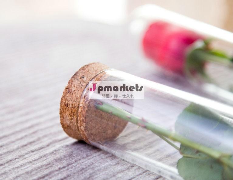 高いホウケイ酸塩のガラス管、ばら、バレンタインデーのギフトのための完全なパッキング問屋・仕入れ・卸・卸売り