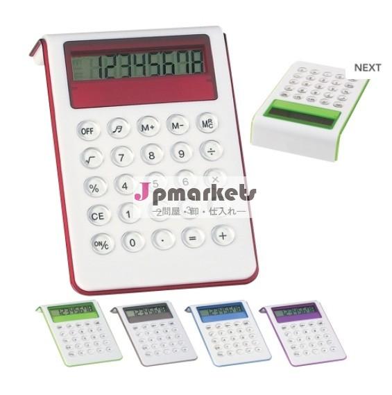熱い販売のサウンドプロモーション印刷の電卓付き電卓問屋・仕入れ・卸・卸売り