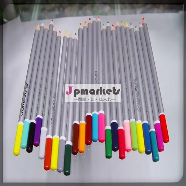 の色の鉛筆の24や学用品を描画するための問屋・仕入れ・卸・卸売り