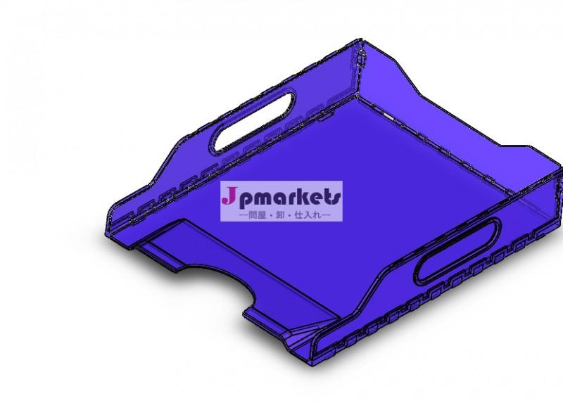 スタッキングマルチティアデスクトップの文書ファイルのオーガナイザーソーターの用紙トレイ問屋・仕入れ・卸・卸売り
