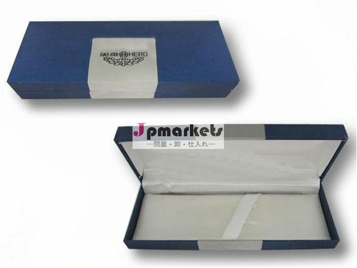 シックな様式のギフトのための上限のleatheretteのペーパーペン箱問屋・仕入れ・卸・卸売り