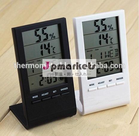 液晶デジタル温度湿度と気象観測所冷蔵庫用/オフィス/家族問屋・仕入れ・卸・卸売り