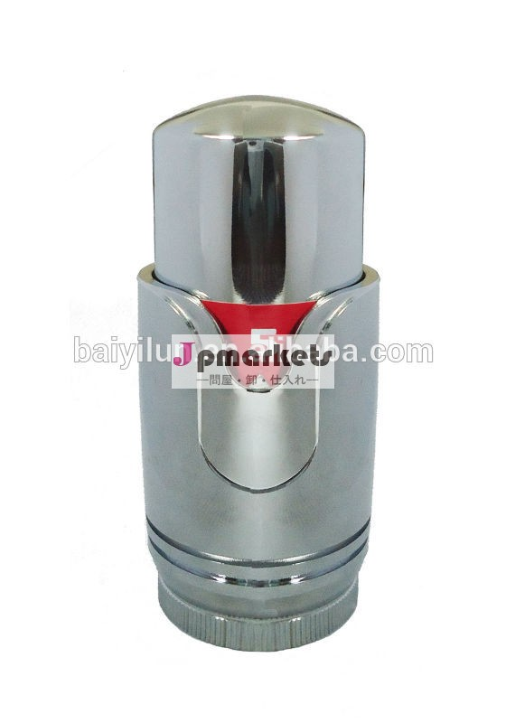 クロームメッキ自動ラジエーターサーモスタットヘッド液体センサー付き問屋・仕入れ・卸・卸売り