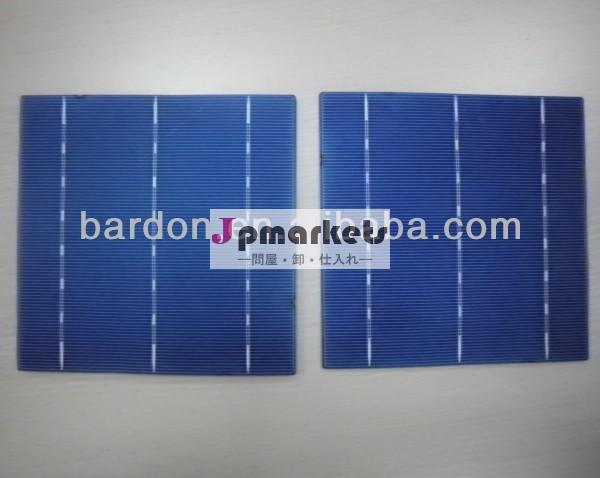 高効率三重接合太陽電池チップ価格のサイズ6x6のインチ125×125( 156mmx156mm) 10mwのためのソーラーシステム問屋・仕入れ・卸・卸売り