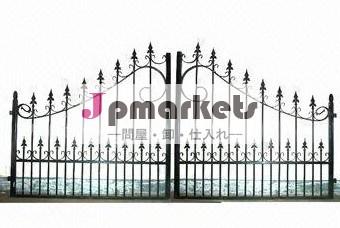 住宅錬鉄の美しいゲートのデザイン/モデル問屋・仕入れ・卸・卸売り