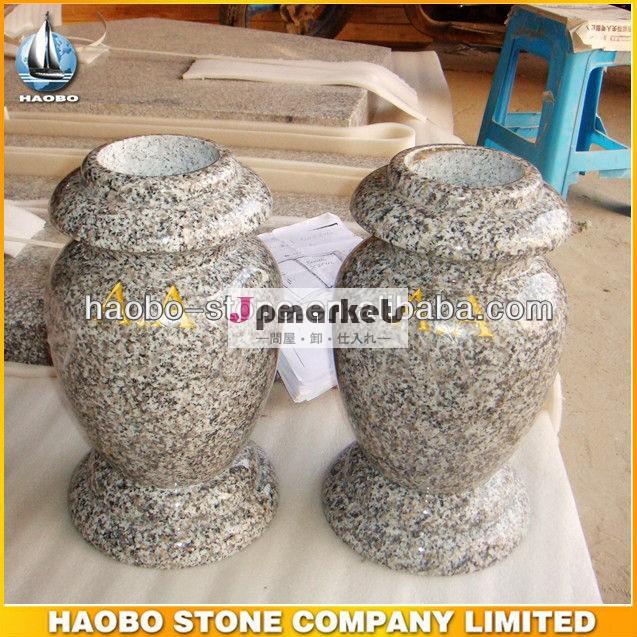 人気のデザイン天然石の記念碑墓花瓶のための問屋・仕入れ・卸・卸売り