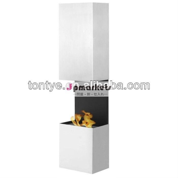装飾的な壁- マウントされている現代の暖炉付き1.5リットル容量調整可能な二層ステンレス鋼バーナー問屋・仕入れ・卸・卸売り