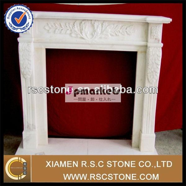 優雅な自然の家の装飾屋内010w彫り大理石の暖炉問屋・仕入れ・卸・卸売り