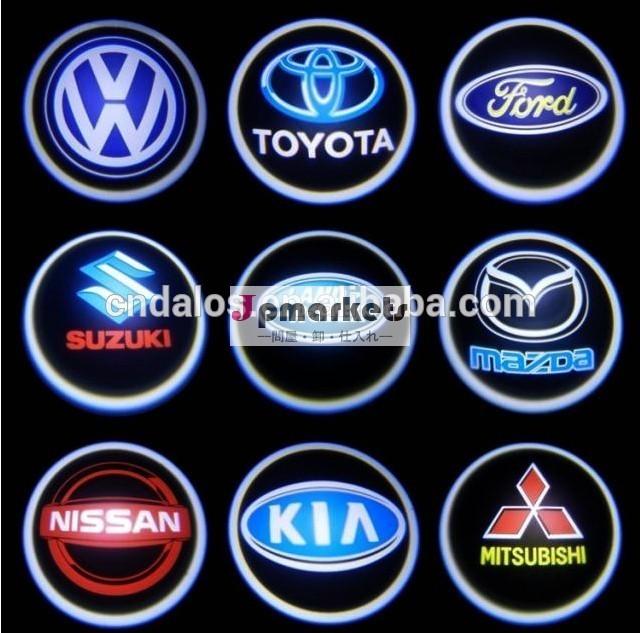 新しいスタイルゴーストライトled車のロゴ/12v高輝度ledロゴプロジェクターゴーストライト車のロゴ問屋・仕入れ・卸・卸売り