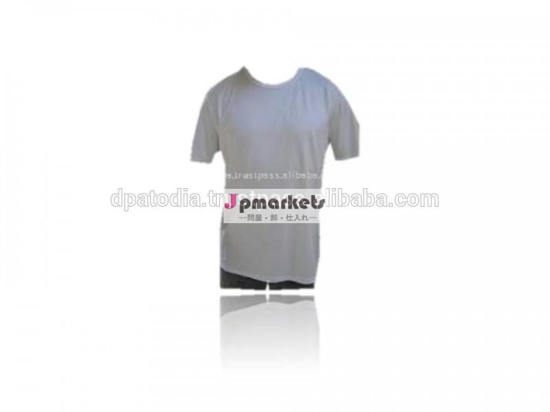 有機性綿の円形の首のTシャツ問屋・仕入れ・卸・卸売り