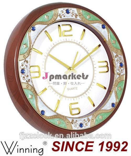 壁時計現代的なデザイン14インチクォーツindes番号付き壁掛け時計問屋・仕入れ・卸・卸売り