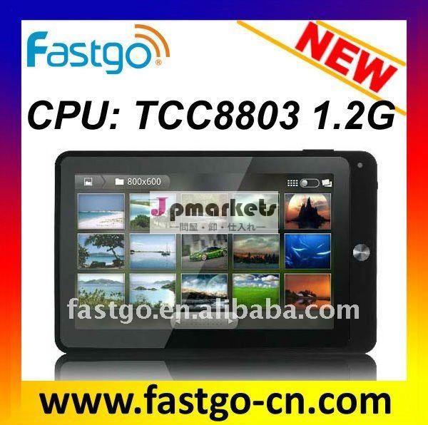 "1.2ghzの、 最新ostelechip88037"" タブレットpcアンドロイド2.3,wifi& 3g問屋・仕入れ・卸・卸売り"