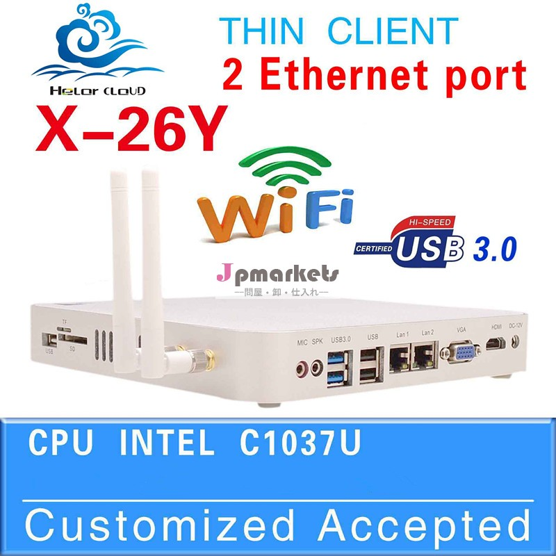 高品質のコンピュータデスクトップ価格ubuntuのlinuxosのデスクトップコンピュータのサポートデスクトップコンピュータx26yc1037uhz1.8グラムデュアルlan問屋・仕入れ・卸・卸売り