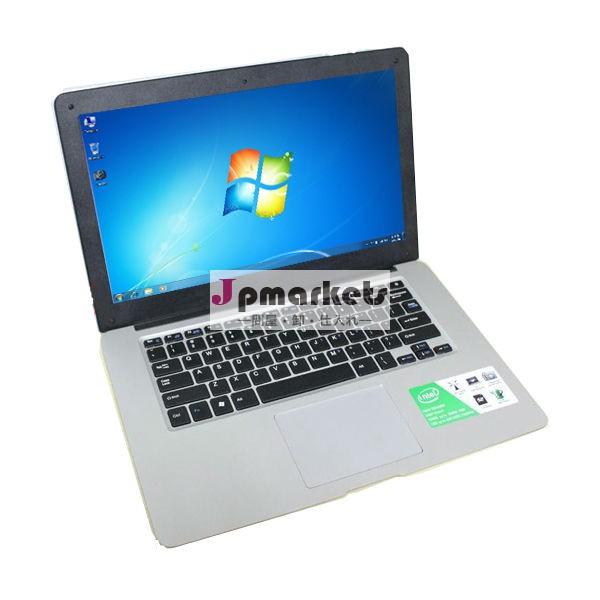 超薄型ラップトップインテルatomデュアルコア14.1''d25001366x768ピクセル建て- rj45ultrabook問屋・仕入れ・卸・卸売り