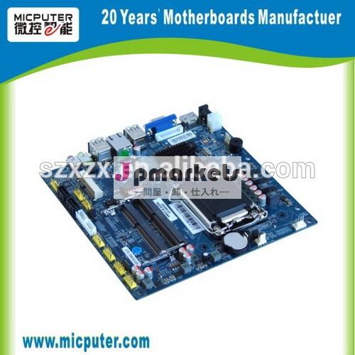 ホットh61系ミニitxマザーボードインテル 2キオスクのためのcom、 atm、 dvb、 産業用pc、 組み込みシステム問屋・仕入れ・卸・卸売り