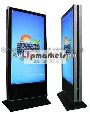 トーテム42インチledタッチスクリーン、 デュアルスクリーンのモニター問屋・仕入れ・卸・卸売り