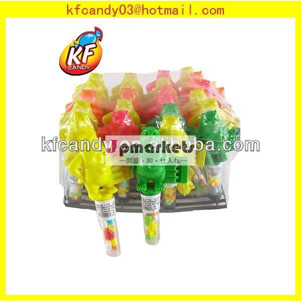 面白いプラスチック中国のクマとハーモニカのおもちゃ子供のための動物のキャンディー問屋・仕入れ・卸・卸売り