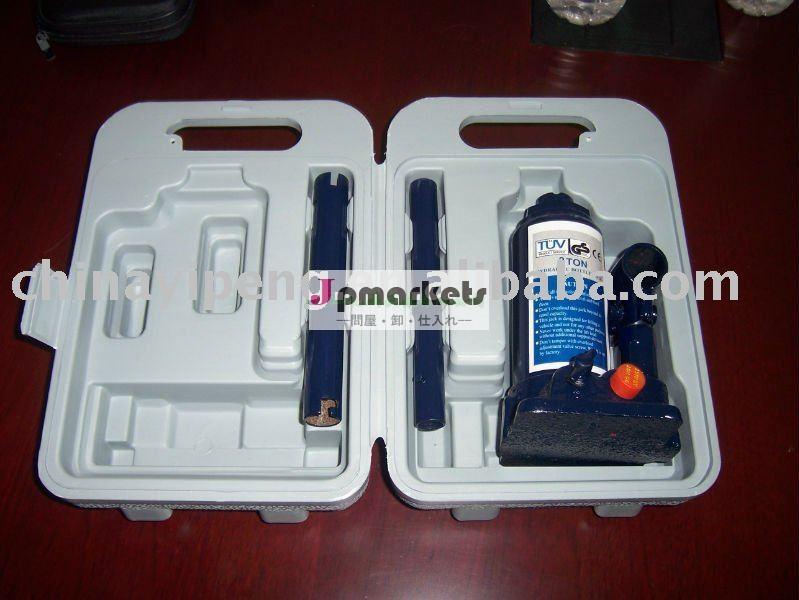 プラスチックの箱およびGSのセリウムは2T油圧ジャックを証明する問屋・仕入れ・卸・卸売り