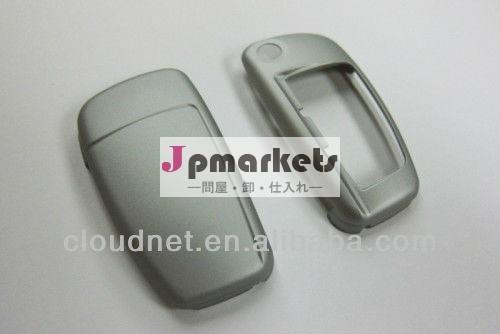 銀のハードプラスチックキーレスリモコンキーフォブリモートフリップキーアウディ用保護ケースカバーa3a4a5a6q5q7tt問屋・仕入れ・卸・卸売り