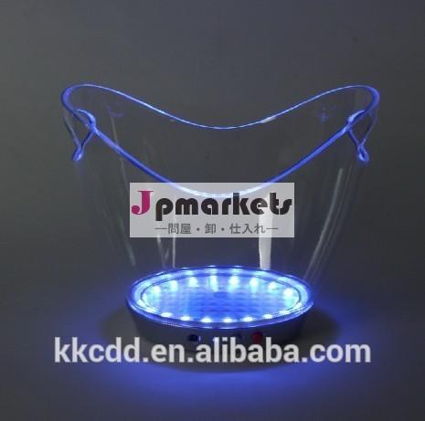 中国の新しいスタイル12リットルユニークなカラフルなスタンディングアイスバケット使い捨て問屋・仕入れ・卸・卸売り