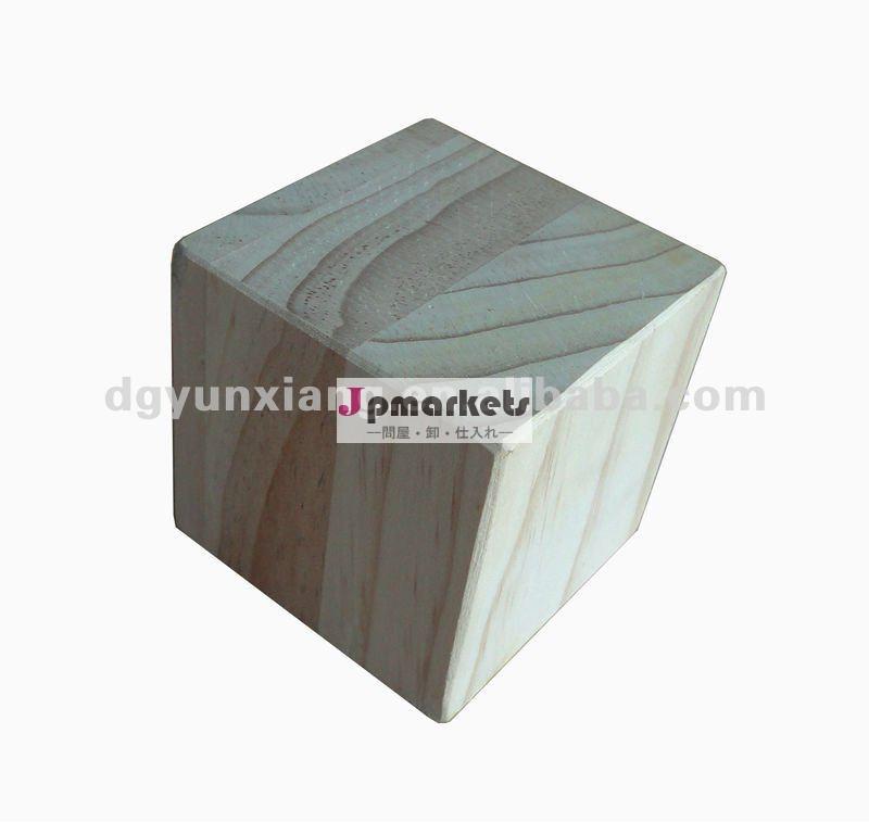 80mmの木のブロックの木製の合成物のブロック問屋・仕入れ・卸・卸売り