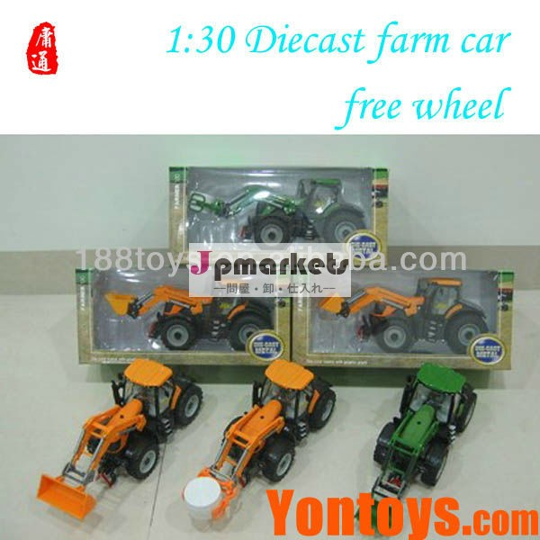 1:30 scale diecast farm cars free wheel問屋・仕入れ・卸・卸売り