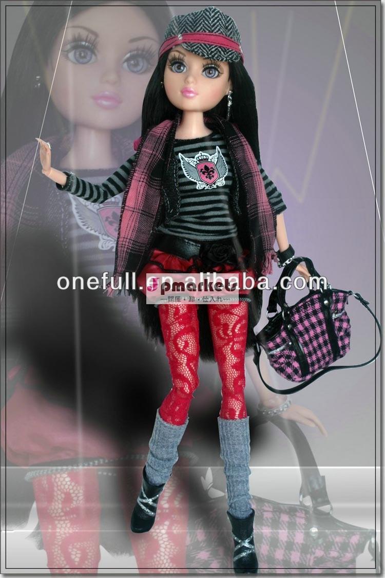 新しいファッションデザインの人形の服の12インチ人形問屋・仕入れ・卸・卸売り