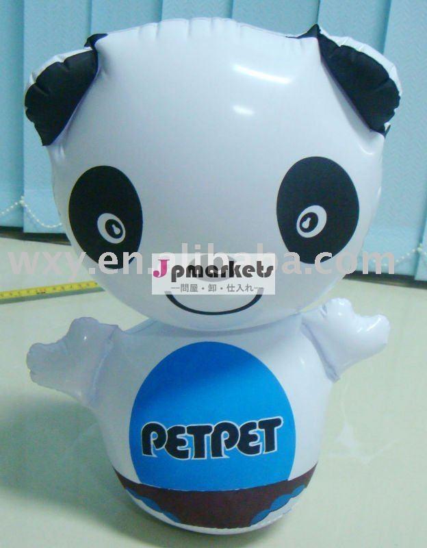 ファッションプロモーションインフレータブル愛らしいパンダの形ポリ塩化ビニールの子供のおもちゃ問屋・仕入れ・卸・卸売り