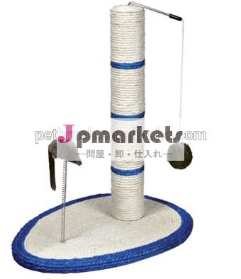 新しいペットプロダクトzml0042014年サイザル猫スクラッチャー木問屋・仕入れ・卸・卸売り